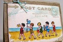 Card Ideas / There really is no limit to what one can do with a little bit of this and that! / by Judy Haskill