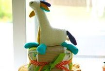 Diaper Cakes by The Life of the Party