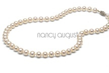 Jewelry: NancyAugust.com / Let NancyAugust.com help you put the finishing touches on your flower girl dress with a alluring rhinestone necklace. Adding a necklace to your flower girl dress will transform a simple dress into a stunning one. Our beautiful fine fashion jewelry collection is sure to put the wow in your child's ensemble for the long anticipated event. A flower girl necklace would also make a great gift for birthdays and graduations. / by Nancy August
