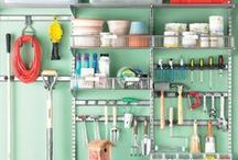 Mr. Clean (and Organized) / Tips for cleaning and organizing your house and life.