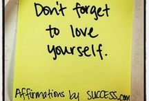 Affirmations by SUCCESS.com / What's on your Post-It note today?  / by SUCCESS Magazine
