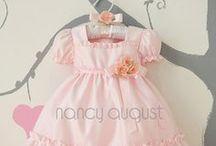 Pink Baby Dresses / by Nancy August