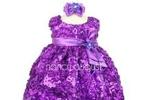 Purple Baby Dresses / by Nancy August