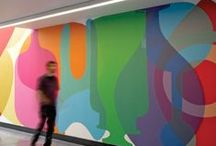 Workplace / corporate branding and inspiration for art in the workplace