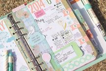 Planner Obsession / Organizing manually