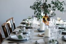 Wedd flowers/plants & placemts / by Anna Bailey