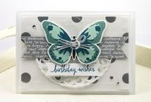 Stampin Up - Watercolor Wings