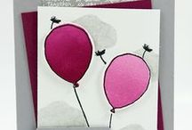 Stampin Up - Balloon Celebration / Partyballons / Luftballons