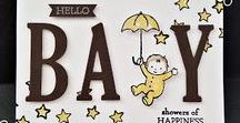 Stampin Up - Moon Baby