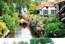 Εξοχή- εξοχικές κατοικίες-τοπία / Όμορφα τοπία μέσα στη φύση. Ιδιαίτερα σπίτια.