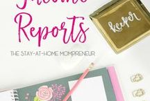 Income Reports / Reading other bloggers income reports is a great way to learn about what you can do to better your own blog!