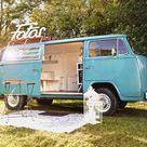 Fotobox Bulli / Schöne Vintage Fotobox im VW T2 Bulli für Hochzeit & Event