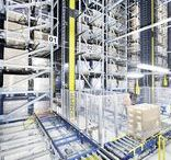 Paletové regály (Pallet rack systems) / Technologie skladovania paliet v paletovych regaloch.