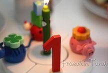 (Erster) Kindergeburtstag / Geburtstag feiern - der erste Geburtstag ist hier nun vorbei, jetzt sammeln wir für die nächsten kindergeburtstage Ideen für Geburtstagsfeier, Geburtstagseinladung, spiele, Rezepte und Dekoration