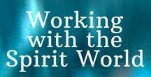 Spirit Guides / Learn to work with the spirit world and discover your spirit guides, spirit animals, and your soul family. You are not alone!