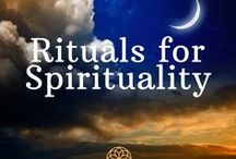 Rituals: Spiritual / Let's talk about rituals for spiritual practice -  developing sacred space, and using to all to grow an attitude of grace that enables you to walk peacefully through your life!