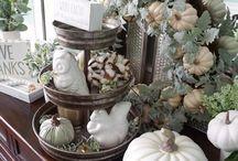 Fall Decor / Beautiful fall decor for your home