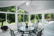 Premium Home Exterior Products / Browse just a few of Champion's windows, doors, siding systems, roof systems, and sunrooms. Find the right option for you by scheduling a free in-home consultation at http://www.championwindow.com/schedule.aspx / by Champion Home Exteriors