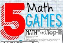 All Things Math / Math ideas, centers, games, and suggestions for the classroom!