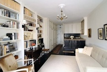 Studio in the City / Studio Apartments | One Room Living | City Dwelling / by Grace Anne Vergara