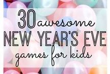 All Things New Years / Fun ideas, DIY projects, and way to celebrate the New Year!