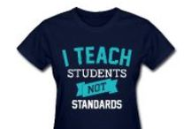 Teacher T-Shirts / Fun, affordable tshirts, tote bags, and mugs for teachers--everything under $20!