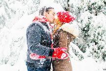 Engagement Photo Ideas / Snowy winterland pics!