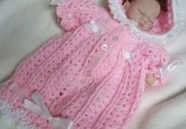 "Crochet Patterns dolls / these are mainly for 10""-12"" & 14""-16"" doll"