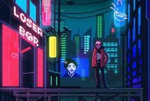 Pixel arts and Gif's