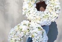 Komunijne Dekoracje ze sztucznych kwiatów