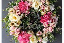 Wiosenne Dekoracje ze sztucznych kwiatów