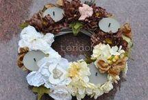Ostatnie Pożegnanie Dekoracje ze sztucznych kwiatów