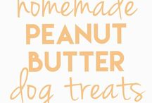 Treats!!for dogs!! / This are some of the treats that I've had to make when we can't buy her regular daily treats she loves this especially the peanut butters treats