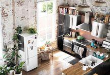 O T H E R   R O O M S / Bathrooms, livingrooms and kitchen