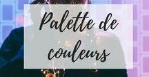 Palette de couleurs / Couleurs, colour palette, color design, color inspo, theme colors, couleurs, Pantone, Inspiration, Palette de couleurs, Design