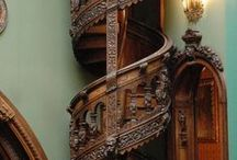Staircases / All different structures from the incredibly embellished to the most minimal