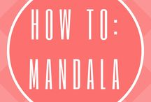 HOW TO DRAW A MANDALA / How to draw a mandala, Step by step, tutorial, DIY