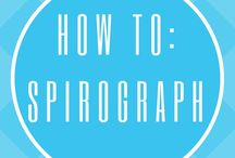 HOW TO DRAW A SPIROGRAPH