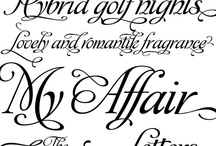 fonts I want / by Laura Jansen