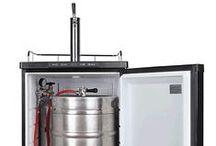 Beer Kegerators / Beer keg dispensers and kegerators for home bars.