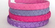 Woven Headbands  - Your Final Touch Hair Accessories / Woven headbands in 1/2 inch and 1 inch, available in many styles and colors. Headband will fit most toddlers to adults.