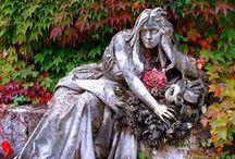 Cemetery / Beautiful monuments / by Amanda Brown