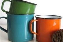 Enamel metal Mugs