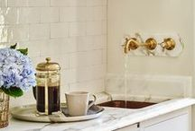 Pantry / all rooms should be beautiful- even your laundry room and pantry.