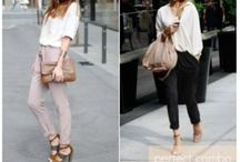 Slouchy / Soft Pants / by Valley Of The Shoes