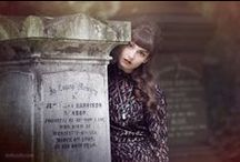 Photo shoot inspiration - cemetery / by Soussia