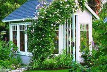 Garden sheds / by Constanze List
