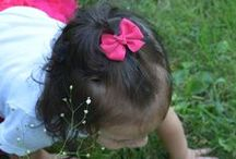 Hair Bows for Babies,Toddlers, Girls and Adult Women / You will find bows of all sizes, colors and styles HERE.