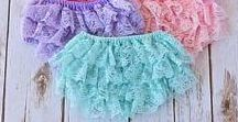 Baby Bloomers- Lace Diaper Covers