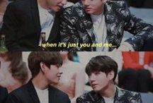 "VKook / ""I will always be nothing unless i'm with you""   V K O O K"